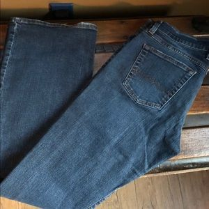 Lucky brand midrise flare jeans